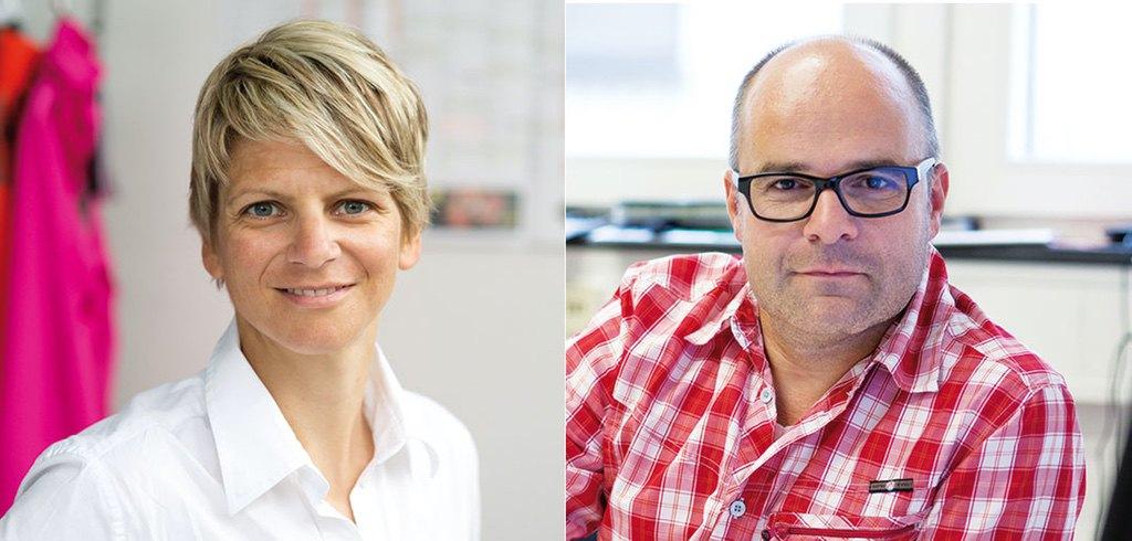 Simone Mayer und Lothar Baisch
