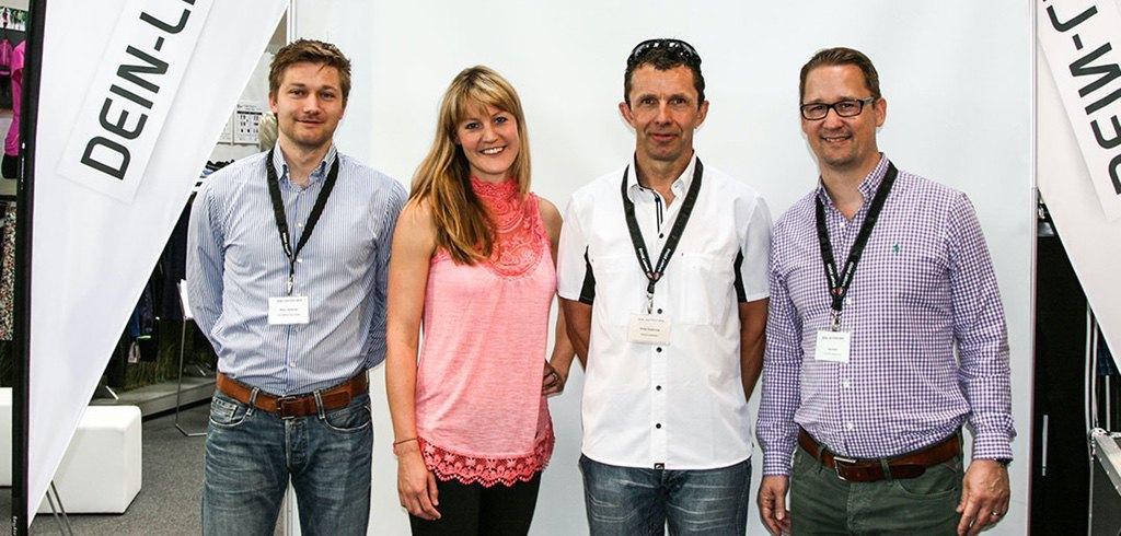 Marc Scheiner, Teresa Potthoff, Silvio Suderow und Jörg Seifert