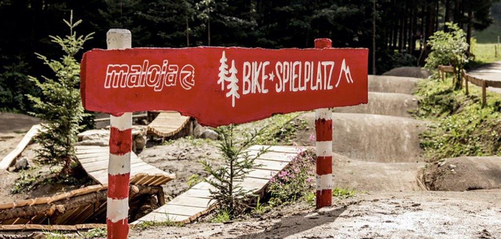 Maloja Bike Spielplatz