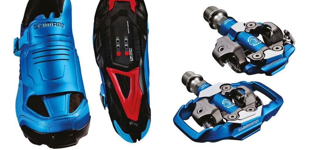 Shimano M200 blau Gruppe