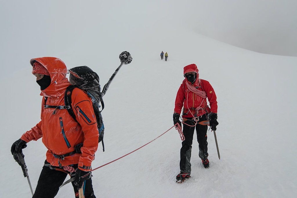 Mont Blanc Rückzug / Foto: (c) Julian Rohn