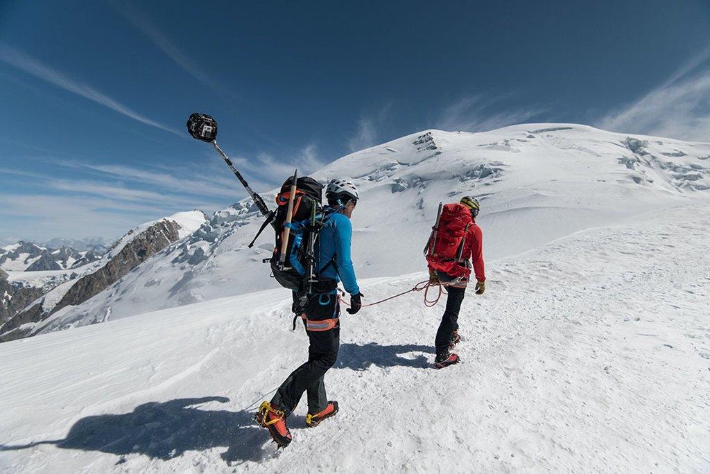 Mont Blanc Seilschaft Rolf Schmid / Foto: (c) Julian Rohn