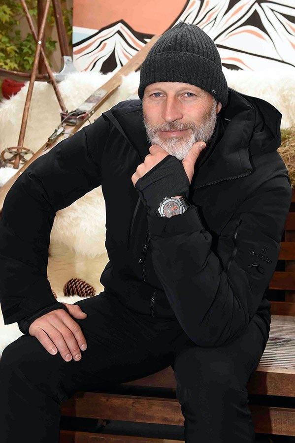 Lasse Kjus and the Kjus Hublot Jacket