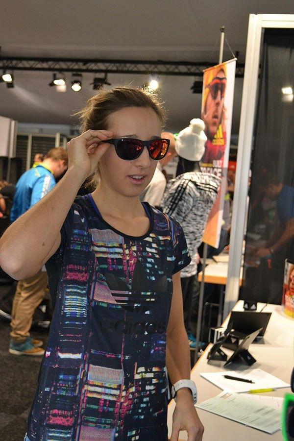 adidas Sport eyewear Einkleidung DSV Franziska Preuss
