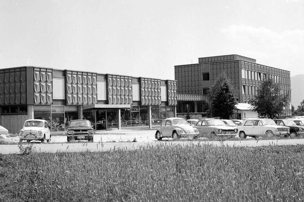 Elan building 70s / Foto: Franci Kolman