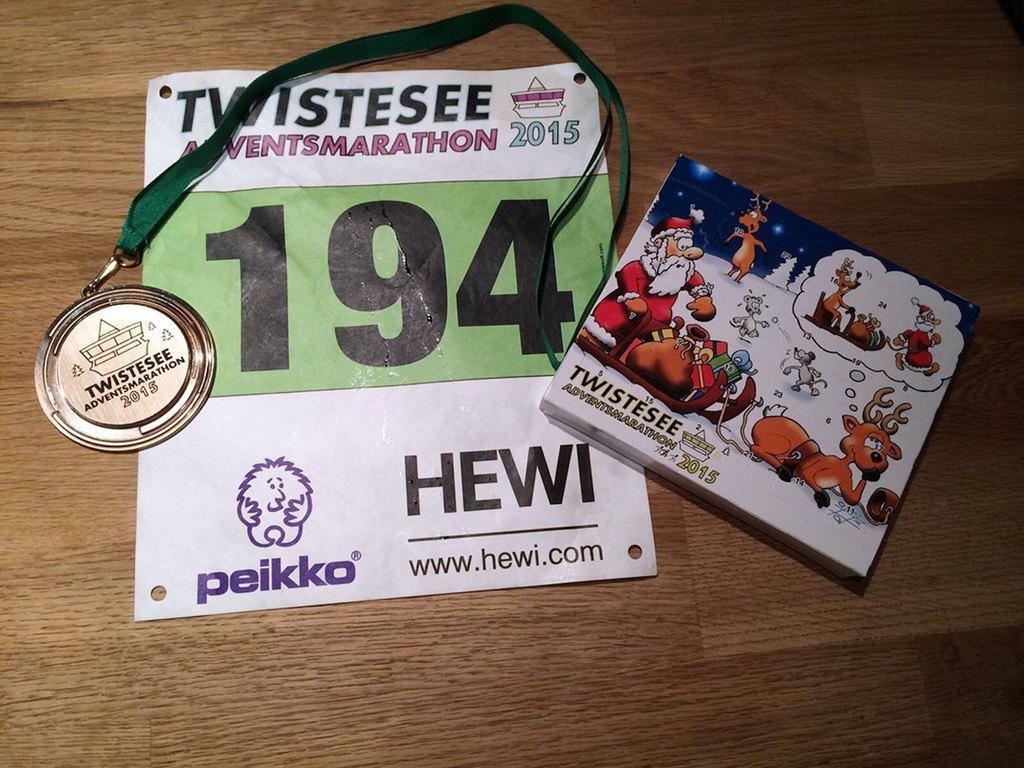 Twistesee Adventsmarathon Bad-Arolsen 2015