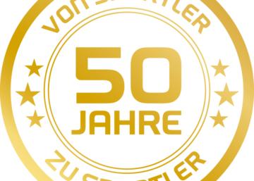 Logo 50 Jahre Marke SPORT 2000