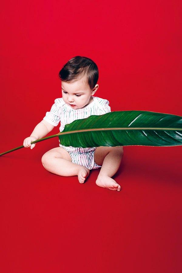 VATTER Baby Body Stripes